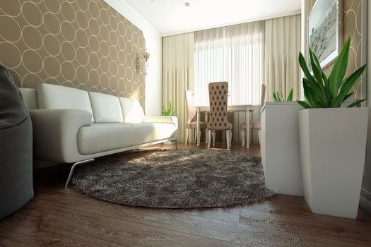 Интерьер трёхкомнатной квартиры 60 кв.м.
