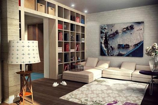 Дизайн-проект однокомнатной квартиры в Чите