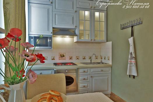 кухня, гостиная.