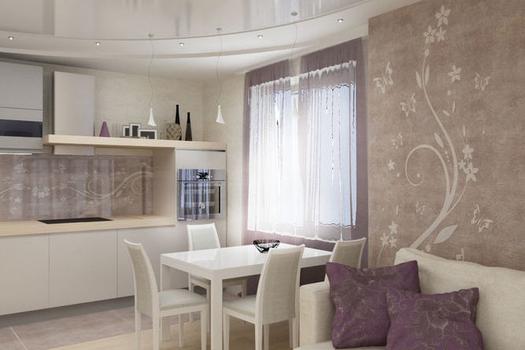 Интерьер трехкомнатной квартиры в современном стиле