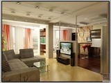 Интерьер современной квартиры для молодой семьи с детьми