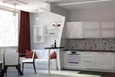 Интерьер двухкомнатной квартиры в современном стиле