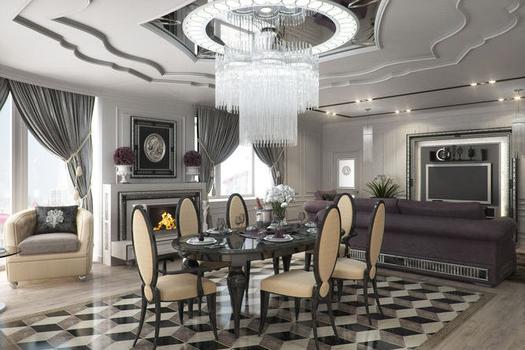 Дизайн 4-комнатной квартиры (175,9 кв.м)