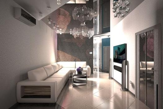 Четырехкомнатная квартира в стиле хай-тек
