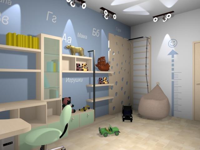 Дизайн-проект квартиры на Алексеева,93