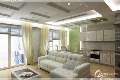 Интерьер 2-х комнатной квартиры (79 м.кв.)