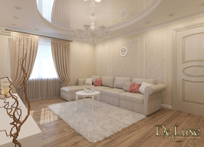 Дизайн 4-х комнат. квартиры (ул. Молокова 5а)