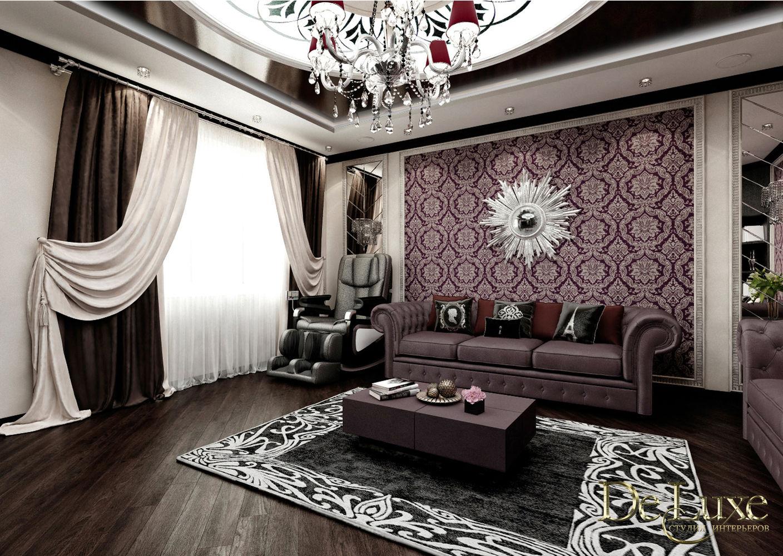 Дизайн гостиной комнаты (ул. Киренского)