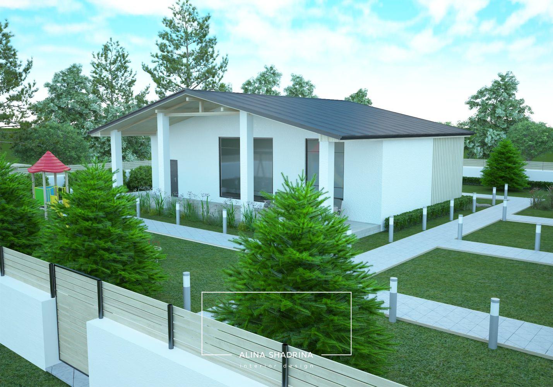 Проект в коттеджном поселке