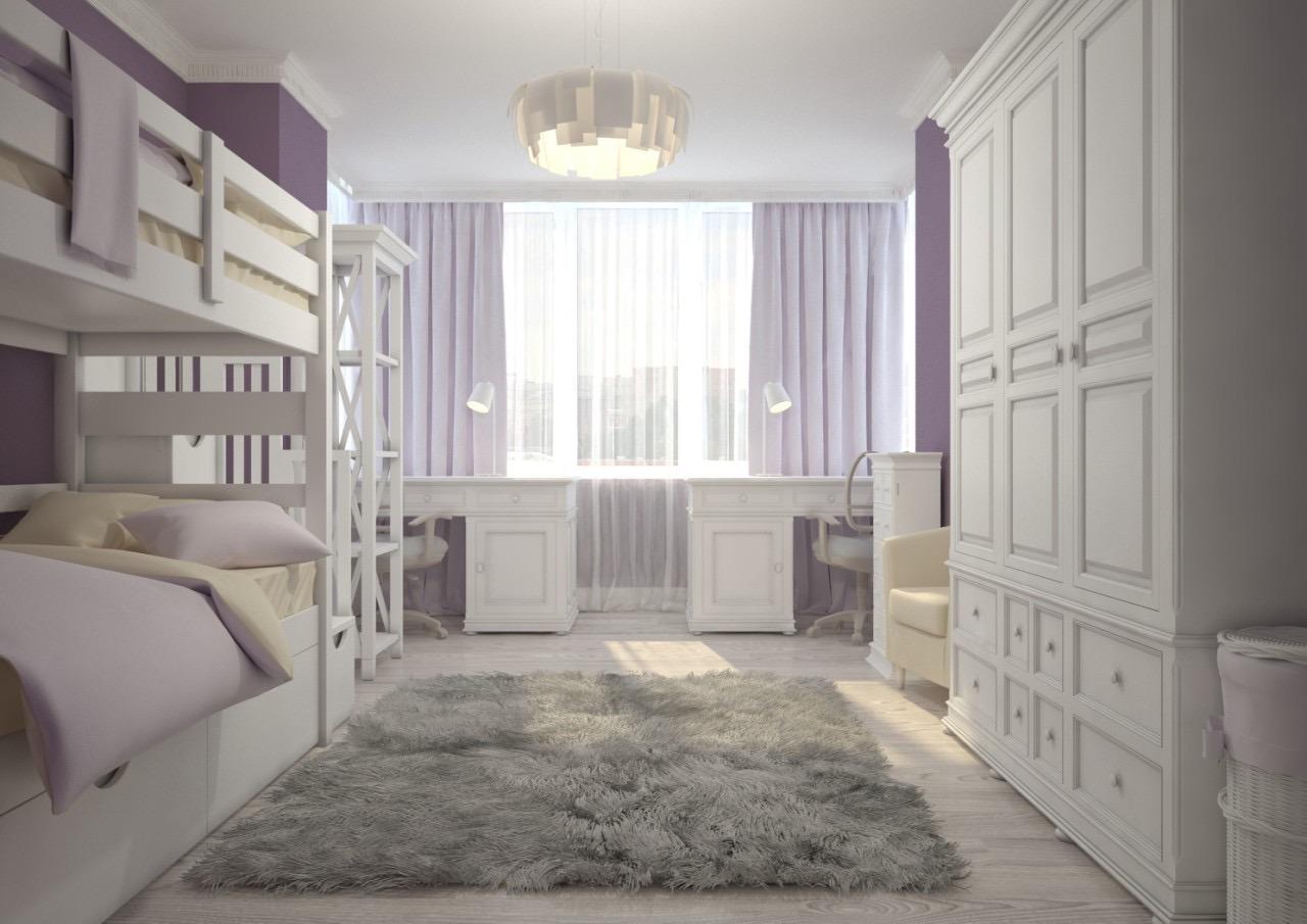 Комната для девочки 20 кв.м.