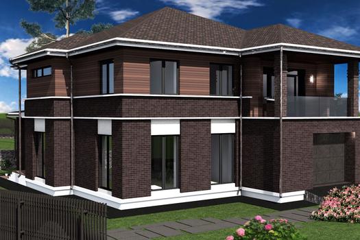 Проект дома для молодой пары