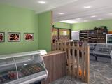 Дизан интерьера магазина-кафе 'Пивной двор'