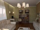 'Новая классика', интерьер двухкомнатной квартиры