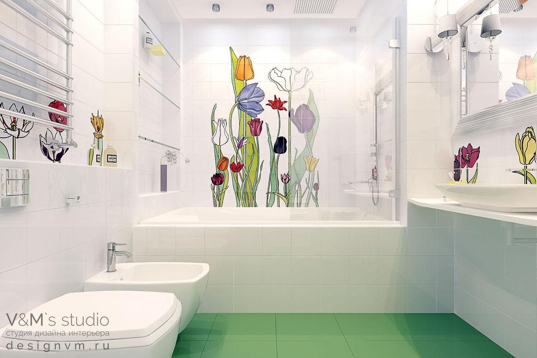 Дизайн ванной комнаты в г. Томск