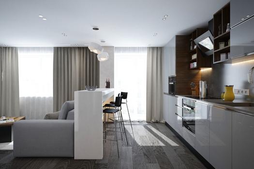 Квартира-студия Стрижи