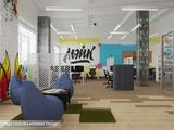 Офис для прогрессивного интернет – агентства 'Мэйк'.