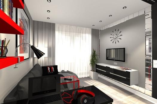 1-комнатная квартира 40м2 г. Санкт-Петербург