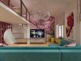 Двухуровневая квартира в ЖК Современник для молодой творческой девушки.