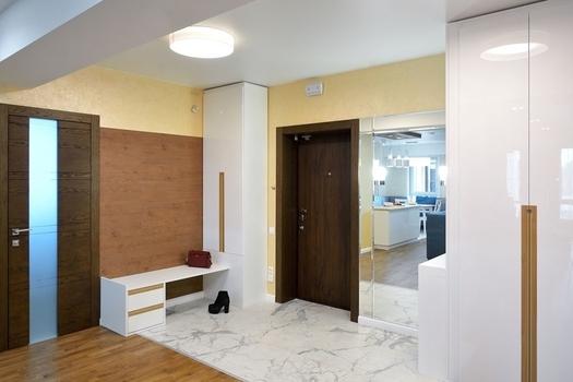 Квартира в современном стиле для молодой пары