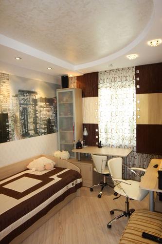 Интерьер трехкомнатной квартиры 70м2