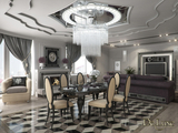 Дизайн квартиры в ЖК 'SkySEVEN LineR'