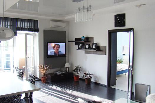 Дизайн интерьера 3х комнатной квартиры в Абакане 96 кв.м