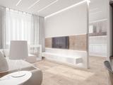 Дизайнерское решение возможно не только на ста квадратных метрах...