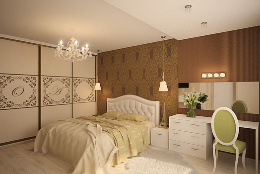 Дизайн-проект четырёхкомнатной квартиры 120 м2., 2015 г.