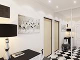 Дизайн-проект однокомнатной квартиры 40 м2., 2017 г.