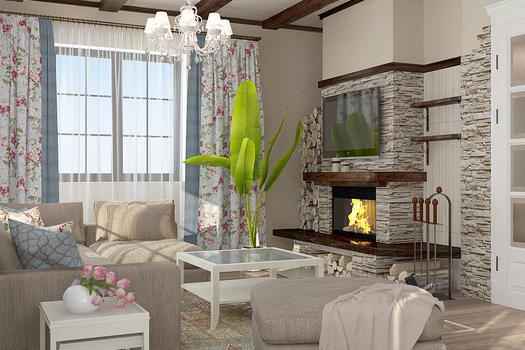 Проект дома в стиле 'Прованс'