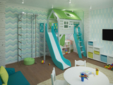 Игровая комната для мальчика и девочки