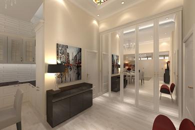 Дизайн квартиры с высоким потолком