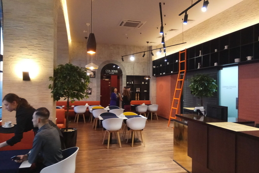 ресторан в БАЛАНСЕ.