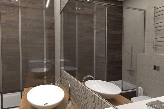 Дизайн проект 3-х комнатной квартиры г. Кемерово
