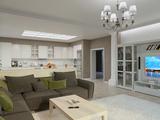 Дизайн интерьера гостиной-кухни.