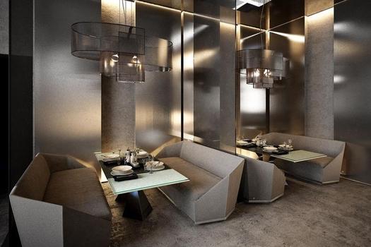 Дизайн ресторана. г.Санкт-Петербург. 2017