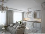 Дизайн-проект трёхкомнатной квартиры 80 м2., 2017 г.
