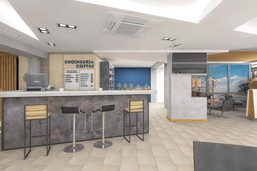 Кофейня ENGINEERIA COFFEE в Volvo центр Иркутск