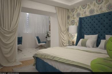 Спальная комната для молодой пары.