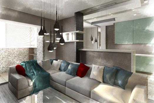 Дизайн-проект трехкомнатной квартиры