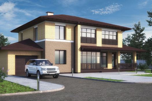 Индивидуальный жилой  дом  230 м2
