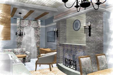Дизайн-проект интерьера гостиницы в историческом здании.