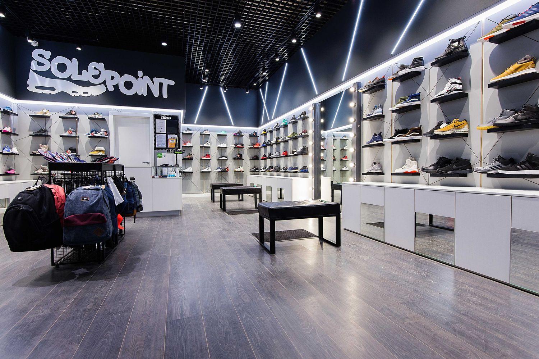магазин спортивной обуви в ТЦ Европа г Барнаул