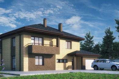 Архитектурный проект индивидуального жилого дома 200 м2