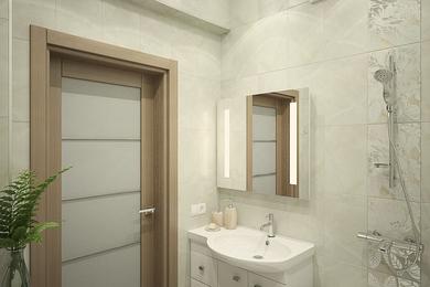 Дизайн-проект двухкомнатной квартиры в современном стиле.