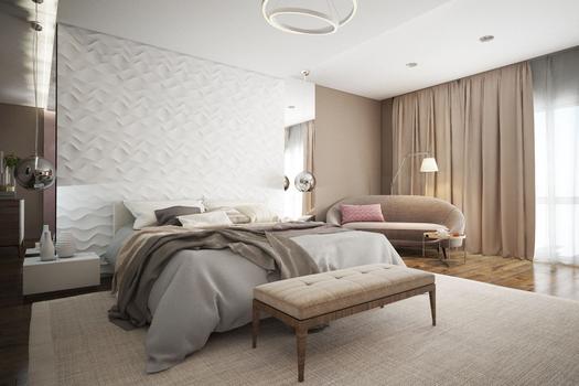 Спальня. Квартира в Якутске