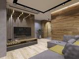 Проект жилой квартиры 83 кв.м для активного молодого человека в г.Киров.