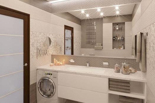 Ванная комната. ЖК Заельцовский