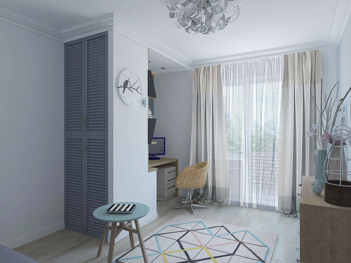 Загадочный образ 3-х комнатных апартаментов