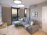 Проект небольшой жилой квартиры в Москве для молодой семьи с двумя детьми (46,2 м.кв.)